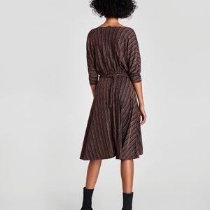 Zara Dresses - Zara Wrap Dress SZ S